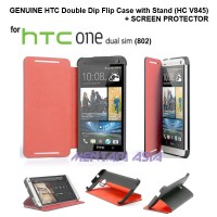 GENUINE Double Dip Flip Case for HTC One DS (802) - Dual SIM