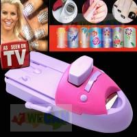 Nail Art Printing Machine Menicure (as seen on TV) ~ Alat Penghias Kuku