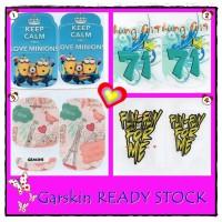 Garskin BB Gemini - Minion Keep Calm - Paris - Thung Crit - Fun For Me | Sticker HP Blackberry 8520 8530