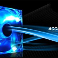 Raidmax 120mm LED Case Fan, Blue, Green, Red, White