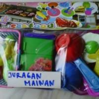 Mainnan Kitchen Set wuth Refrigator
