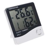 Thermometer Suhu Ruangan / THERMO - HYGROMETER DIGITAL HTC - 1