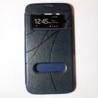 Samsung Galaxy Mega Duos 5.8 GT-I9152 KLD Kalaideng Oscar IV Series Flip Leather Case [Biru Tua]