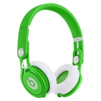 Beats Mixr Neon Green DJ Headphones by dr dre
