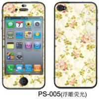 iPhone 5/5s Whole body phone Sticker + Screen Anime Color High quality!