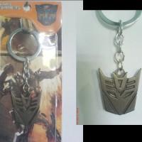 Keychain Transformers Decepticon Logo