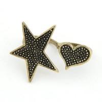 A21998 bintang love | Cincin 2jari import gaya korea koleksi ichika