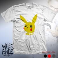 Kaos Unik WnP - Pikachu
