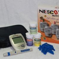 Alat Cek Gula Darah, Kolesterol & Asam Urat  Nesco