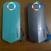 VIVAN V06 : Power Bank 6000mah Powerlight