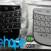 Keypad + Trackpad Blackberry BB Dakota 9900 Hitam Putih BLack White