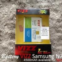 Galaxy Note 1 4200mAh Battery / Baterai Vizz Double Power Samsung Galaxy Note N7000 / i9220 / i9300