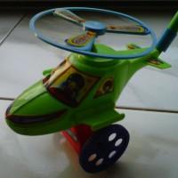 Mainan Helikopter Dorong