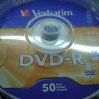 DVD - Verbatim - DVD R Verbatim (50 Pcs per Spindle)