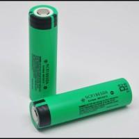Panasonic 3100mAh NCR18650 Li-Ion . Rechargeable.
