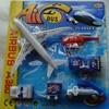 Mainan Pesawat Airbus dan Full shet kendaraan Bandara