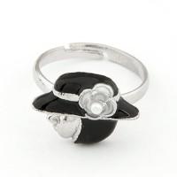 A21799 hitam | Cincin import gaya korea koleksi ichika shop