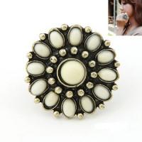 A22768 cincin korea vintage flower