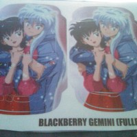Garskin Fullbody Blackberry Gemini gambar Inuyasha Ready