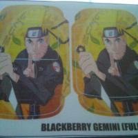 Garskin Fullbody Blackberry Gemini gambar Anime Naruto Ready