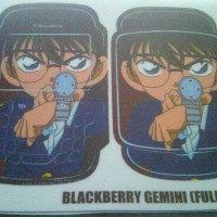Garskin Fullbody Blackberry Gemini gambar Anime Conan Ready