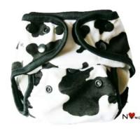 Clodi Diaper Cover NVme Snap Minky Cow Popok Kain Pakai Ulang Untuk Bayi Baru Lahir Newborn 0 - 16 kg