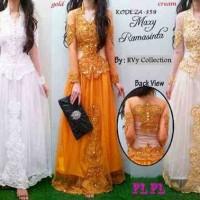 Jual Maxi Dress Kebaya Ramashinta Tile + Payet Murah