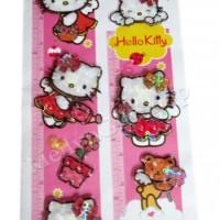 STD06 - Wall Sticker | Stiker Dinding Growth Chart Hello Kitty 3D