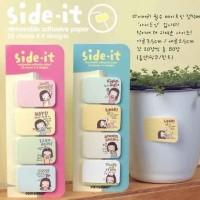 Sticky Notes Mini Motif Gadis Kecil