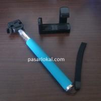 Tongsis holder L + iPhone tripod Biru