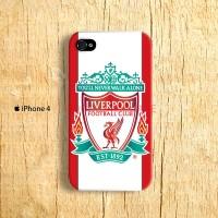 Liverpool FC Logo iPhone 4 Custom Hard Case
