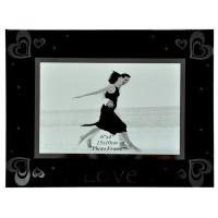 Bingkai Foto / Mirror Glass Photo Frame, Love TF12079M 6x4 (07285)