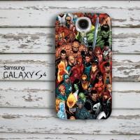 Marvel Comic Character Samsung Galaxy S4 Custom Hard Case