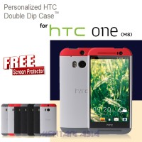 Case HTC One M8 : Double Dip Hardcase