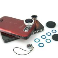 Lensa Magnetik 3 in 1 Wide Angle - Makro - 180 Fish Eye - HP162