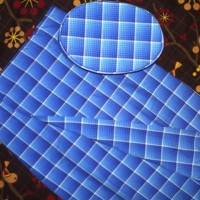 Peci dan Sarung Anak Instant Biru Size XL (kode BRL)