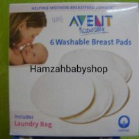 Jual Avent Washable Breast Pads (isi 6Pcs) Murah