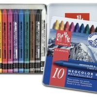 Crayon Caran d' Ache / carandache / karandase / krandis / krandas / krayon karandis 10 warna (Neo1/ Neo2)