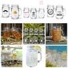 Drinking Glass Jar / Gelas Toples Harvest Time / Mason Jar