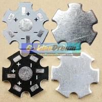 Heat Sink Aluminium Plat Pendingin LED 1W - 3W Universal Star PCB Heatsink Diameter 20mm