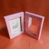 Frame Pigura Figura Foto Photo + Cermin Kaca Mirror Souvenir Suvenir Kado Hadiah Gift Ulang Tahun Ultah Pernikahan Wedding Murah