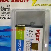 Nokia BL-6F 1850mAh Battery / Baterai Vizz Double Power BL6F Nokia N78 N79 N95 N93i E65 6788
