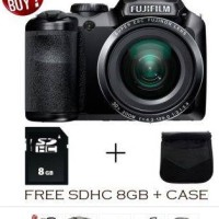 Camera Fujifilm Finepix S4800 - 16MP 30x Zoom - Kamera Free 8GB SDHC + Tas