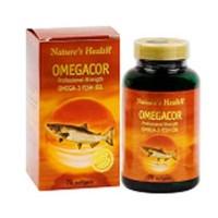 Suplemen Natures Health Omegacor obat penurun kolesterol dan trigliserida, hipertensi, rematik