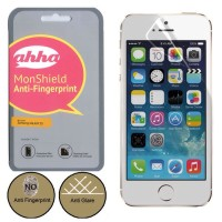 AHHA MonShield Anti Glare Screen Protector Anti Fingerprint Front and Back iPhone 5/5S
