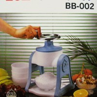 Ice Shaver (Serutan Es) Manual BB-002