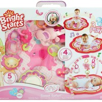 Bright Starts Playmate Safari Sweet Pretty in Pink Activity Gym