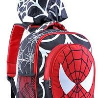 Tas Sekolah Anak Laki Laki Motif Spiderman Bertopi GYN 4633