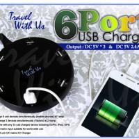 Harga 6 Port Usb Charger Travelbon.com