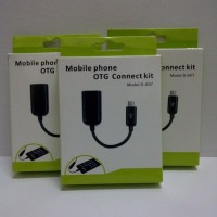 Kabel / Cable OTG Micro USB for Samsung, Sony, Nokia, all phones support USB On the go (Mobile Phone OTG Connected Kit)